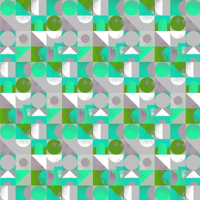 Toy Blocks Small - Green-Laurence Lavallee-Giclee Print