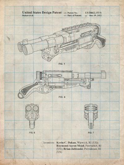 Toy Gun-Cole Borders-Art Print