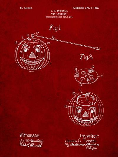 Toy Lantern Poste Patent-Cole Borders-Art Print