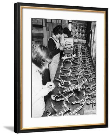 Toy Manufacturing--Framed Photographic Print