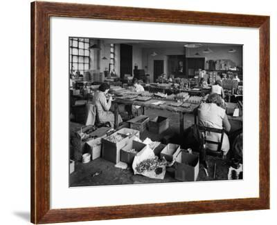 Toy Soldier Factory--Framed Photographic Print