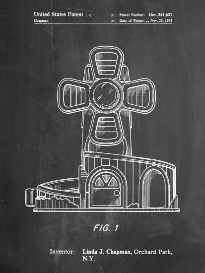 Toy Windmill-Cole Borders-Art Print