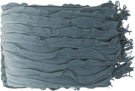 Toya Throw - Blue Slate/Pistachio--Home Accessories