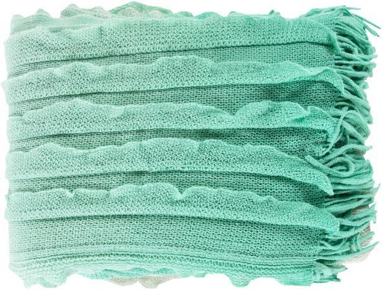 Toya Throw - Mint/Seafoam Green--Home Accessories
