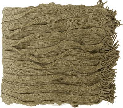 Toya Throw - Olive/Ivory--Home Accessories