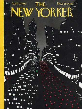 The New Yorker Cover - April 2, 1927