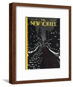 The New Yorker Cover - April 2, 1927 by Toyo San
