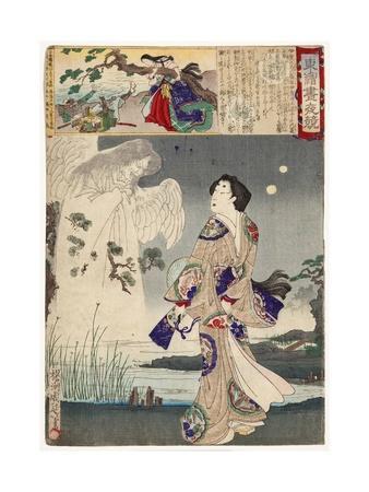 Lady Iga and the Ghost of Sasaki Kiyotaka, 1886