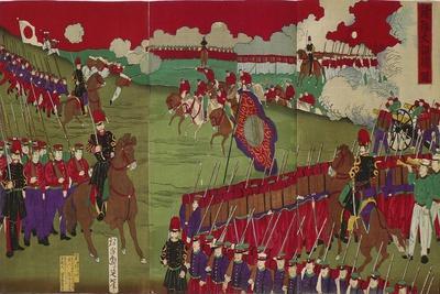The Great Training Maneuvers by Various Army Corps (Shotai Dai Choren No Z)