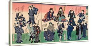Chotto Hitokuchi Hauta No Ateburi by Toyohara Kunichika