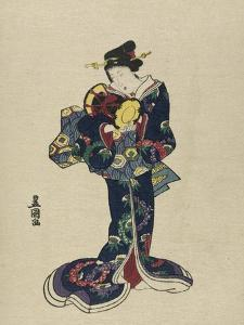Kotsuzumi by Toyokuni