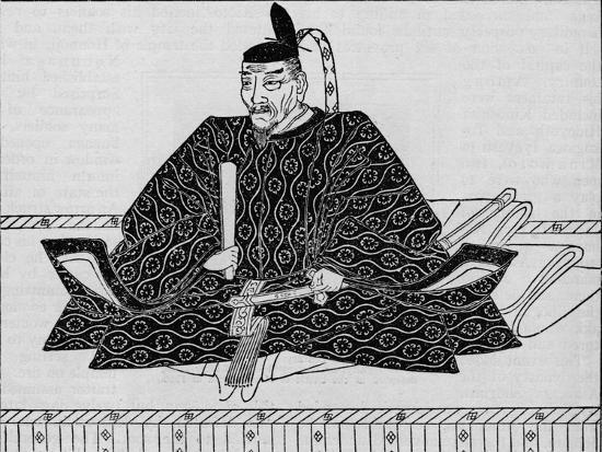 Toyotomi Hideyoshi (1536-1598), Japanese military leader, 1907-Unknown-Giclee Print