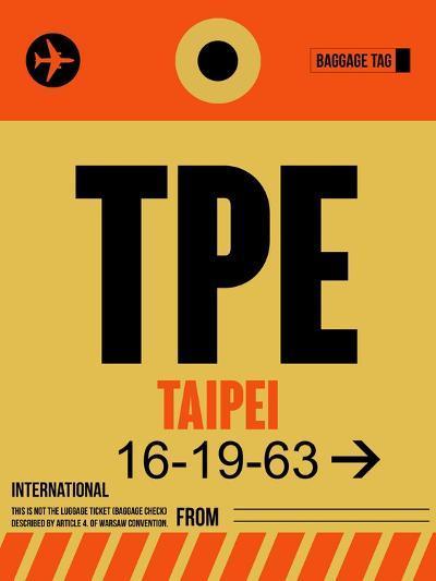 TPE Taipei Luggage Tag 2-NaxArt-Art Print