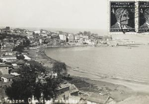 Trabzon - General View of the Bay