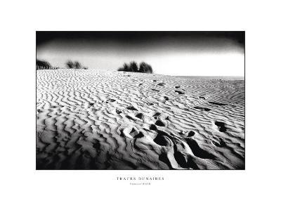 Traces Dunaires-Emmanuel Bazin-Art Print