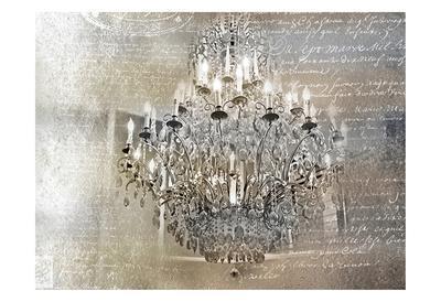 Silver Gold Chandelier