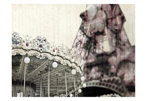 Vintage Carousel by Tracey Telik