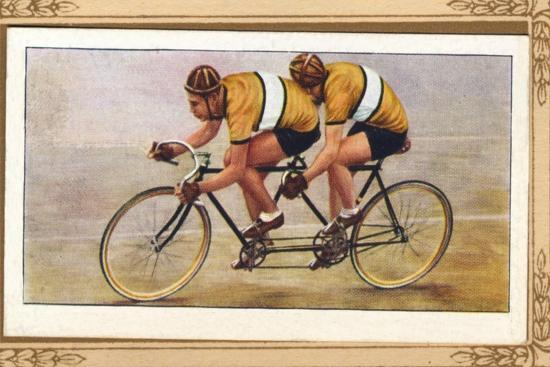 'Track Tandem Position', 1939-Unknown-Giclee Print