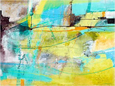Tracks of maestro-Carole Malcolm-Art Print