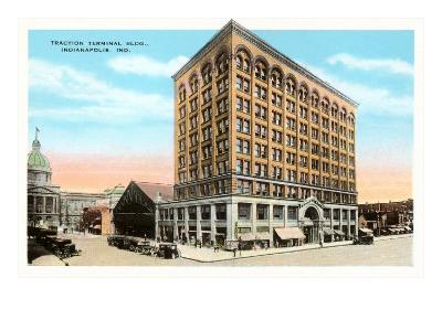 Traction Terminal Building, Indianapolis, Indiana--Art Print