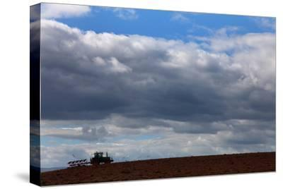Tractor Ploughing Field, Near Fenor, County Waterford, Ireland