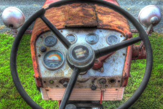 Tractor Seat 1-Robert Goldwitz-Premium Giclee Print