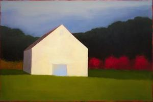 Behind the Blue Door by Tracy Helgeson