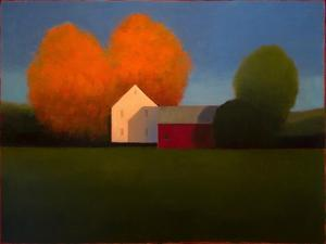 October Farmland by Tracy Helgeson