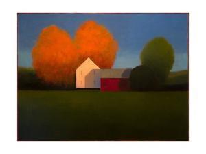 October Farmland by Tracy Helgeson