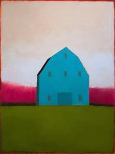 Turquoise Barn by Tracy Helgeson