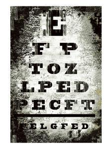 Eyechart by Tracy Hiner