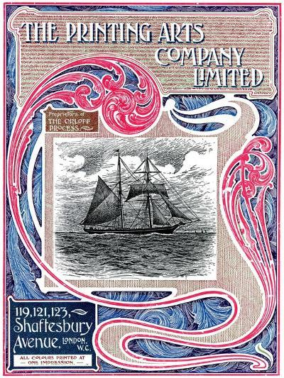 Trade Advertisement for the Printing Arts Company Limited, London, 1902-1903--Giclee Print