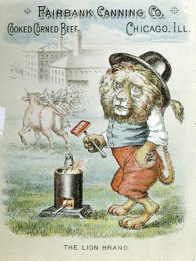 Trade Card for the Fairbank Canning Company, Chicago, Illinois, C1890--Giclee Print