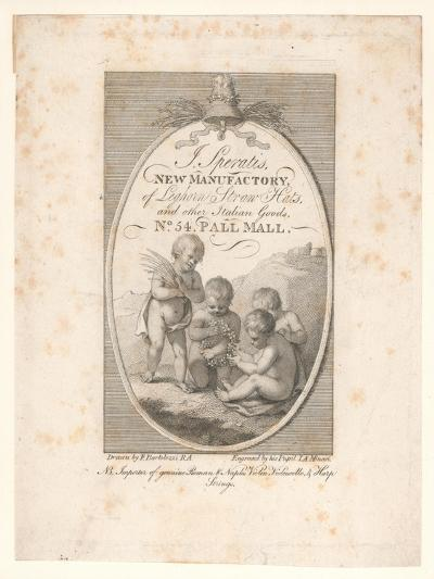 Trade Card, J Speratis-Francesco Bartolozzi-Giclee Print