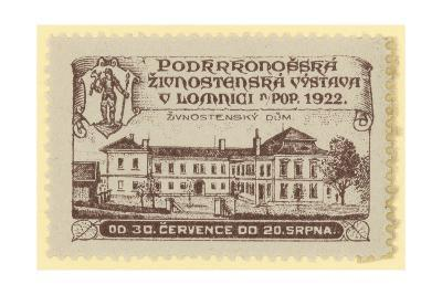 Trade Exhibition, Lomnica., Czechoslovakia, 1922--Giclee Print