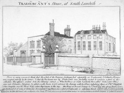 Tradescant's House, South Lambeth, London, 1798-J Caulfield-Giclee Print