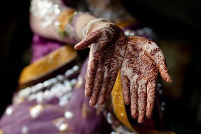 Tradition of Mehndi / Henna-Sara Farid-Photographic Print