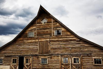 Traditional Barn On A Wyoming Ranch, USA, North America- Shattil & Rozinski-Photographic Print