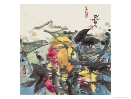 Traditional Charm Series VI-Tian Yongbao-Giclee Print