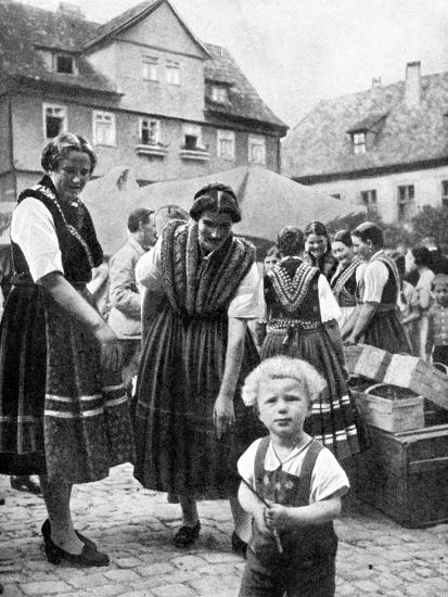 Traditional Costume, South Germany, 1936--Giclee Print
