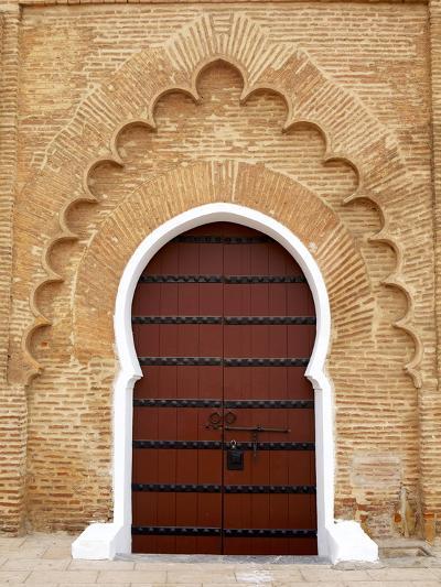 Traditional Doorway to Koutoubia Mosque-Simon Montgomery-Photographic Print