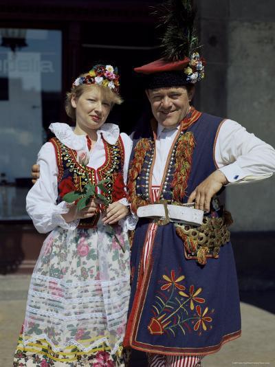 Traditional Dress, Poland-Adina Tovy-Photographic Print