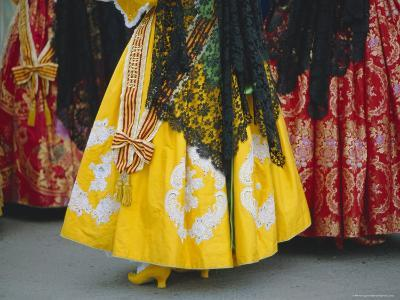 Traditional Dresses, Las Fallas Fiesta, Valencia, Spain, Europe-Rob Cousins-Photographic Print