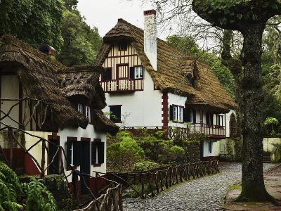 Traditional Madeira House, Queimadas, Madeira, Portugal, Atlantic Ocean, Europe-Jochen Schlenker-Photographic Print