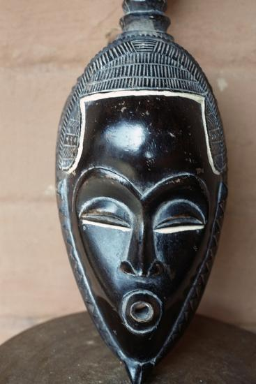 Traditional Mask from Benin--Giclee Print