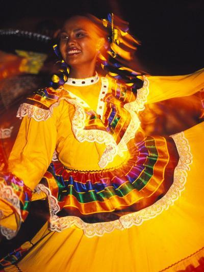 Traditional Mexican Dress, Caribbean-Robin Hill-Photographic Print