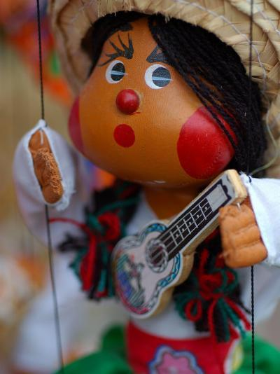 Traditional Mexican Puppet at Street Stall near Playa de Los Muertos in Zona Romanica, Mexico-Anthony Plummer-Photographic Print
