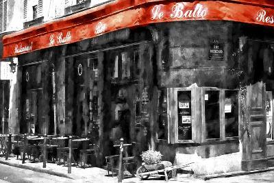 Traditional Parisian Bar II-Philippe Hugonnard-Giclee Print