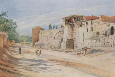 Traditional Site Where St. Paul Was Let Down in a Basket, Damascus-Walter Spencer-Stanhope Tyrwhitt-Giclee Print