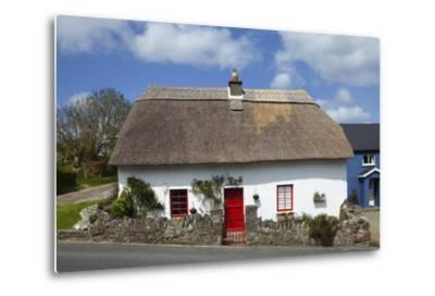 Traditional Thatched Cottage in Annstown, Part of the Copper Coast Geopark, County Waterford